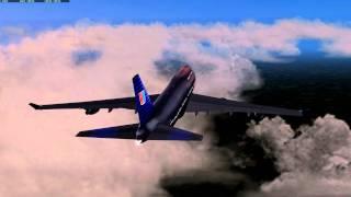 X Plane movie United Air 12