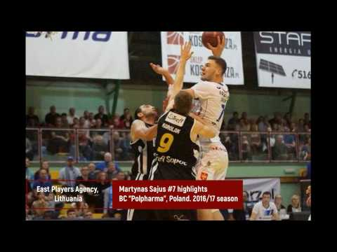 Martynas Sajus #7 highlights. 2016/17 season