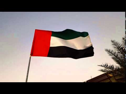 United Arab Emirates Flag - Slow Motion - Galaxy s6