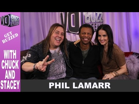 Voice Over Actor Phil LaMarr PT1  Futurama, Family Guy, Star Wars: The Clone Wars EP195