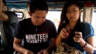 Jeepney ride in Dagupan City