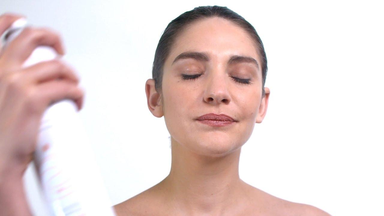 Make Up Fixieren