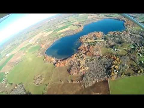 October 26th Flying Highlights around West Branch in my Rans S-6S