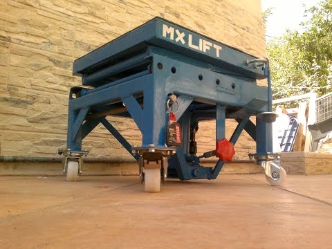 how to make a homemade hydraulic projector