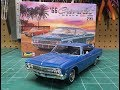 1966 Chevy Impala Ss 396 2n1 1/25 Scale Model Kit Build Review Revell 85 4497