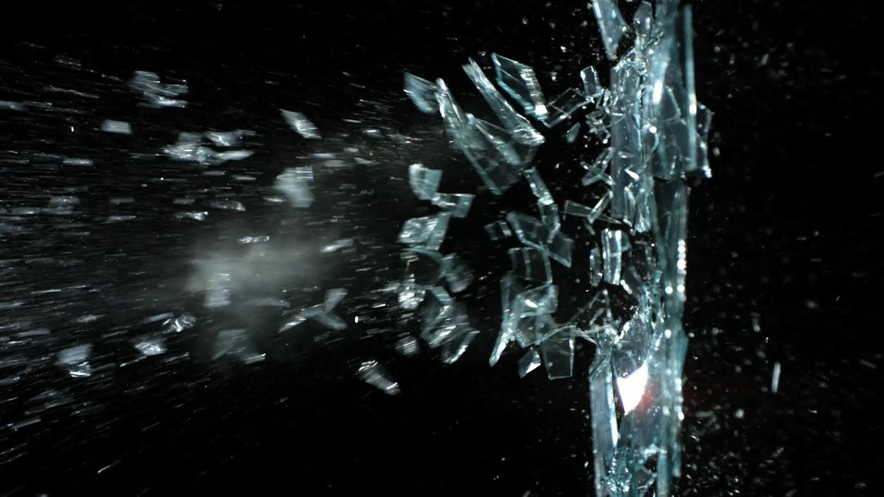 Cracked Screen Iphone 4 Wallpaper Free Slow Motion Footage Slingshot Breaking Glass Youtube