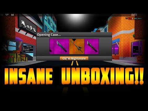 UNBOXING THE NIGHTMARE!!! *NEW HALLOWEEN EXOTIC* (ROBLOX ASSASSIN)