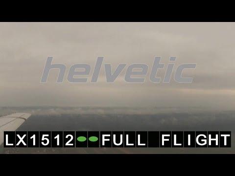 Helvetic Airways Fokker 100 LX1512 Zürich - Graz | Full Flight