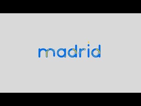 Animography Madrid Animated Typeface