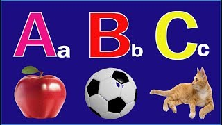 Phonics Song with ABC Alphabet 3D Animation Songs | A For Apple Kids Song