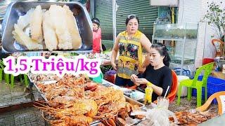 Xuất hiện hải Sâm vỉa hè 1 triệu 500k/kg ngon rẻ ở Sài Gòn | Saigon Travel