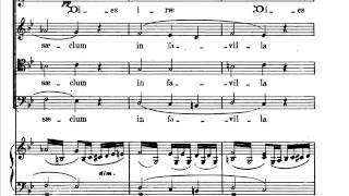 Verdi Requiem Dies Irae 01 Score