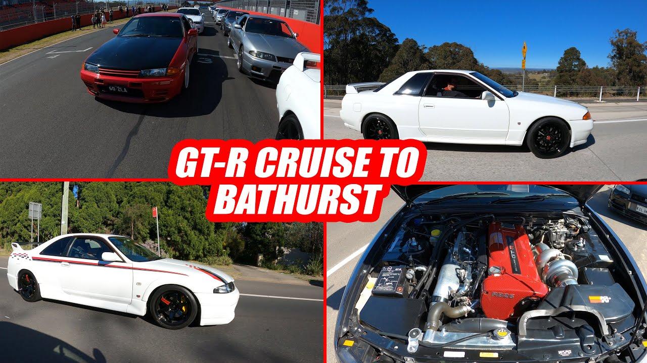 Annual GT-R Cruise to Bathurst - Godzilla Pilgrimage - VLOG