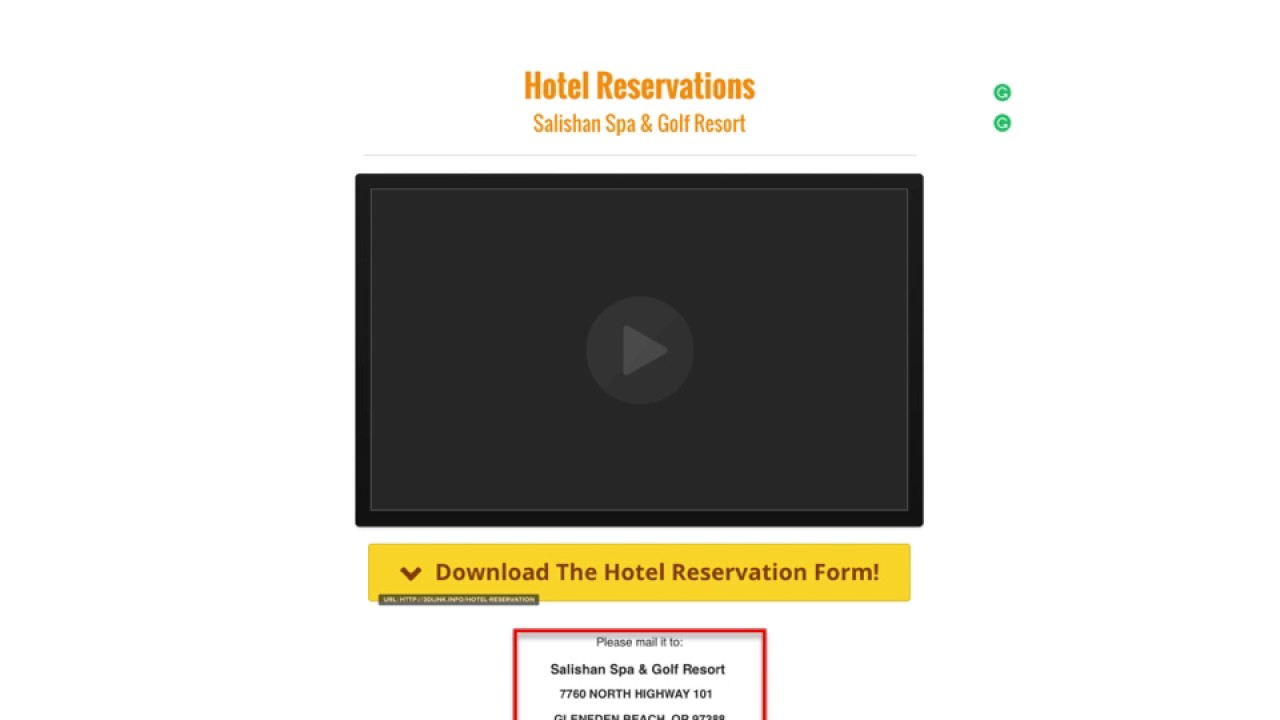 Hotel reservation form youtube hotel reservation form thecheapjerseys Choice Image