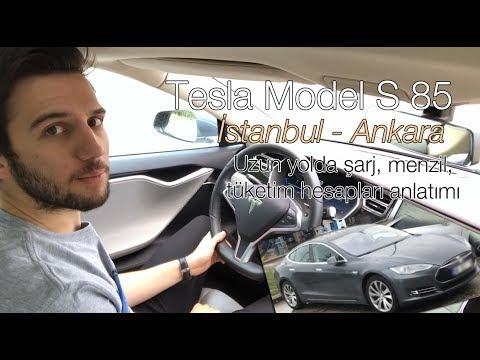 Elektrikli Uzun Yol 03: Tesla Model S ile İstanbul - Ankara