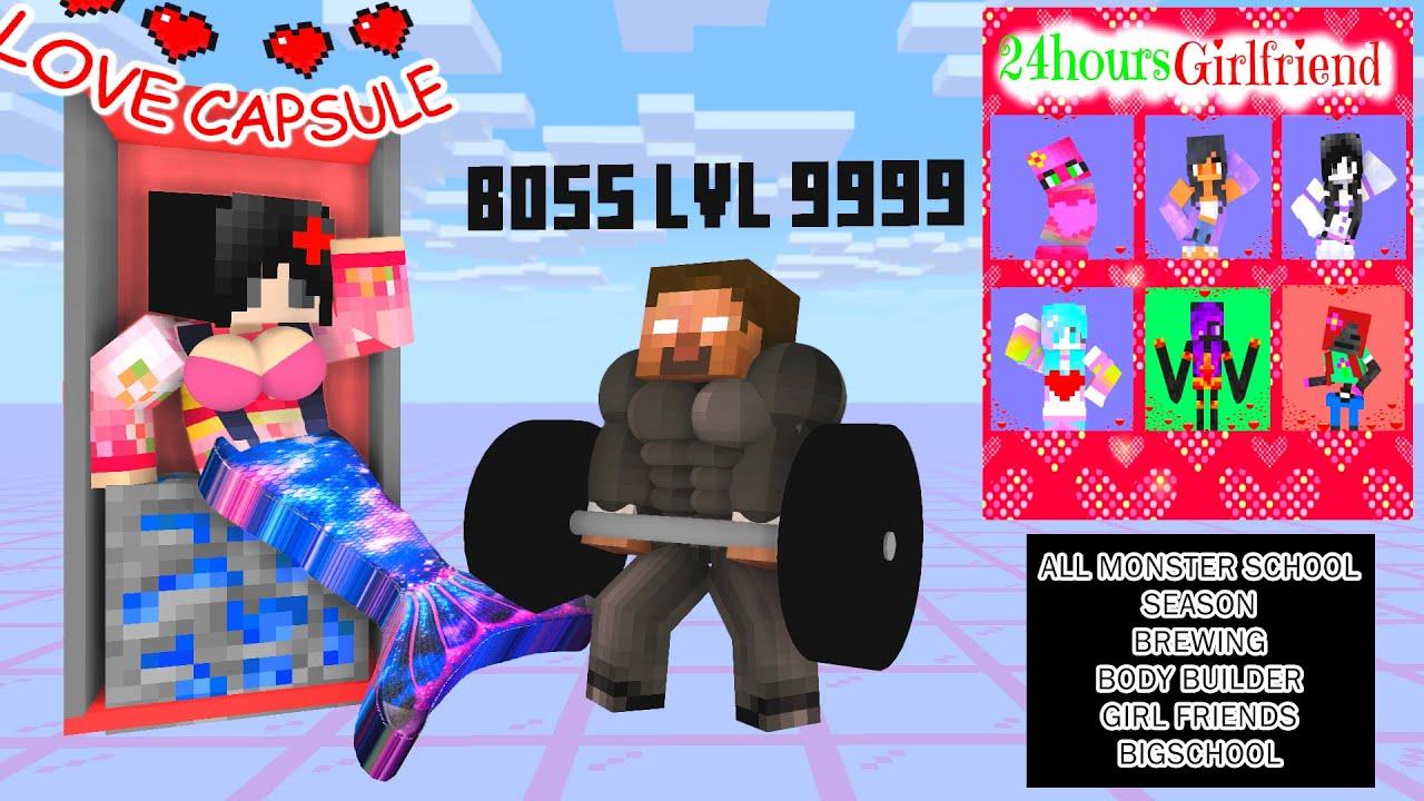 Minecraft, ALL BREWING & BODY BUILDER SEASON - BIG SCHOOL