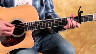 How to Play Titanium by David Guetta - Easy Acoustic Songs Guitar Lesson