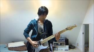 この曲のギターの音が好みの音なのでやってみました.