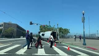 постер к видео   в сердце San Francisco   с НАТАШЕЙ MarkizaUSA California USA почти  Нью-ЙОРК