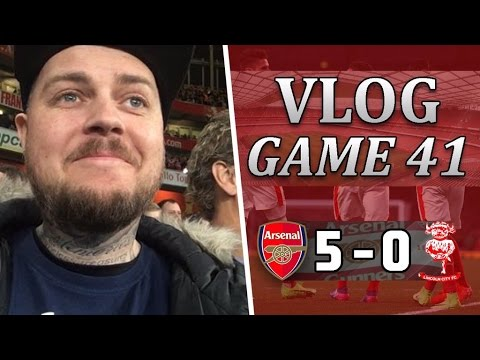 Arsenal 5 v 0 Lincoln City | We Done A Professional Job | Matchday Vlog | Game 41