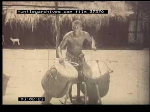 African Tribal Village Life, 1930s - Film 37370