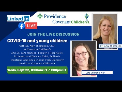 COVID-19 and young children