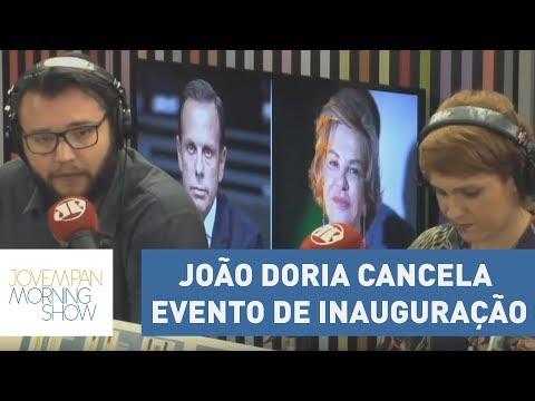 João Doria Cancela Evento De Inauguração Do Viaduto Marisa Letícia Lula Da Silva