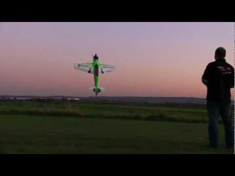 PILOT RC SBACH 50CC ELECTRIC HACKER SET UP GREEN SCHEME