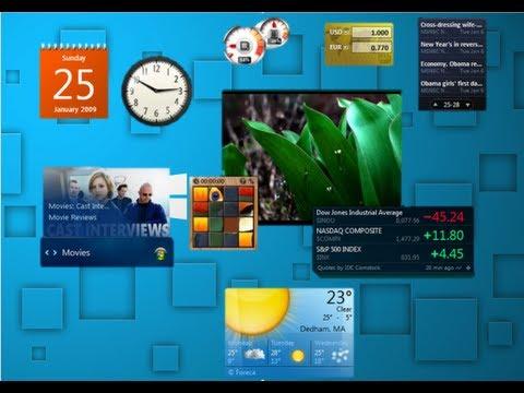 How To Get Desktop Gadgets In Windows 8