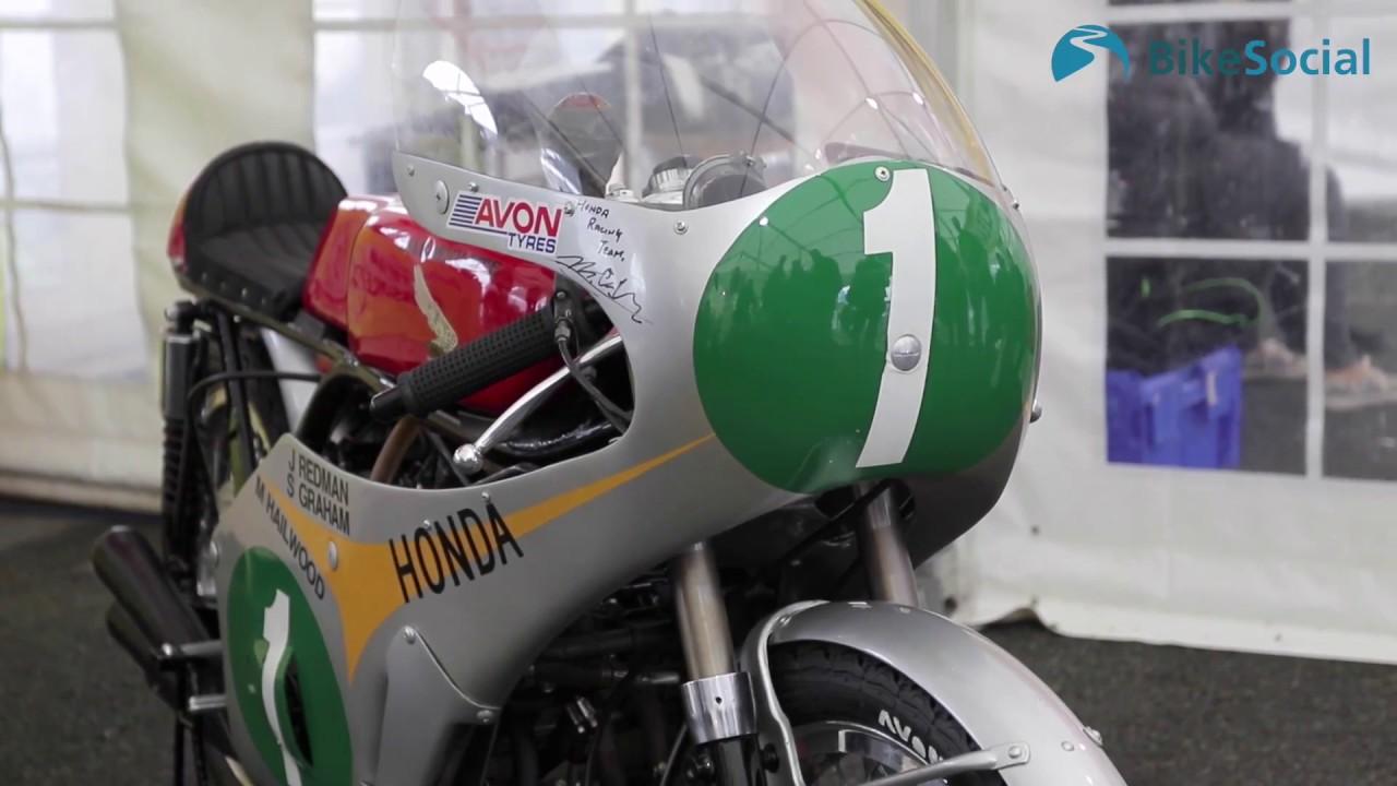 Historic six-cylinder Honda RC165 ridden! BikeSocial review - YouTube