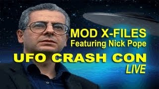 MOD X-FILES - Nick Pope LIVE FEATURE LENGTH