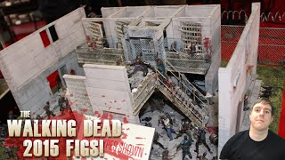 The Walking Dead 2015 New Figures And Building Sets Shown From Mcfarlane Toys!