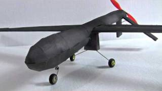 RC Predator Drone - Get the Plans at www.buildafoamie.com