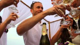 Свадьба на пляже Самуи видео Антон и Настя 5.01.13 Таиланд(Свадебная церемония на пляже Самуи, прогулка к водопадам., 2013-01-15T19:15:44.000Z)