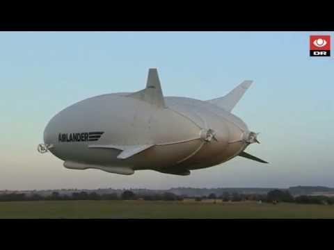 Verdens største luftfartøj gennemfører jomfrurejse - DR Nyheder