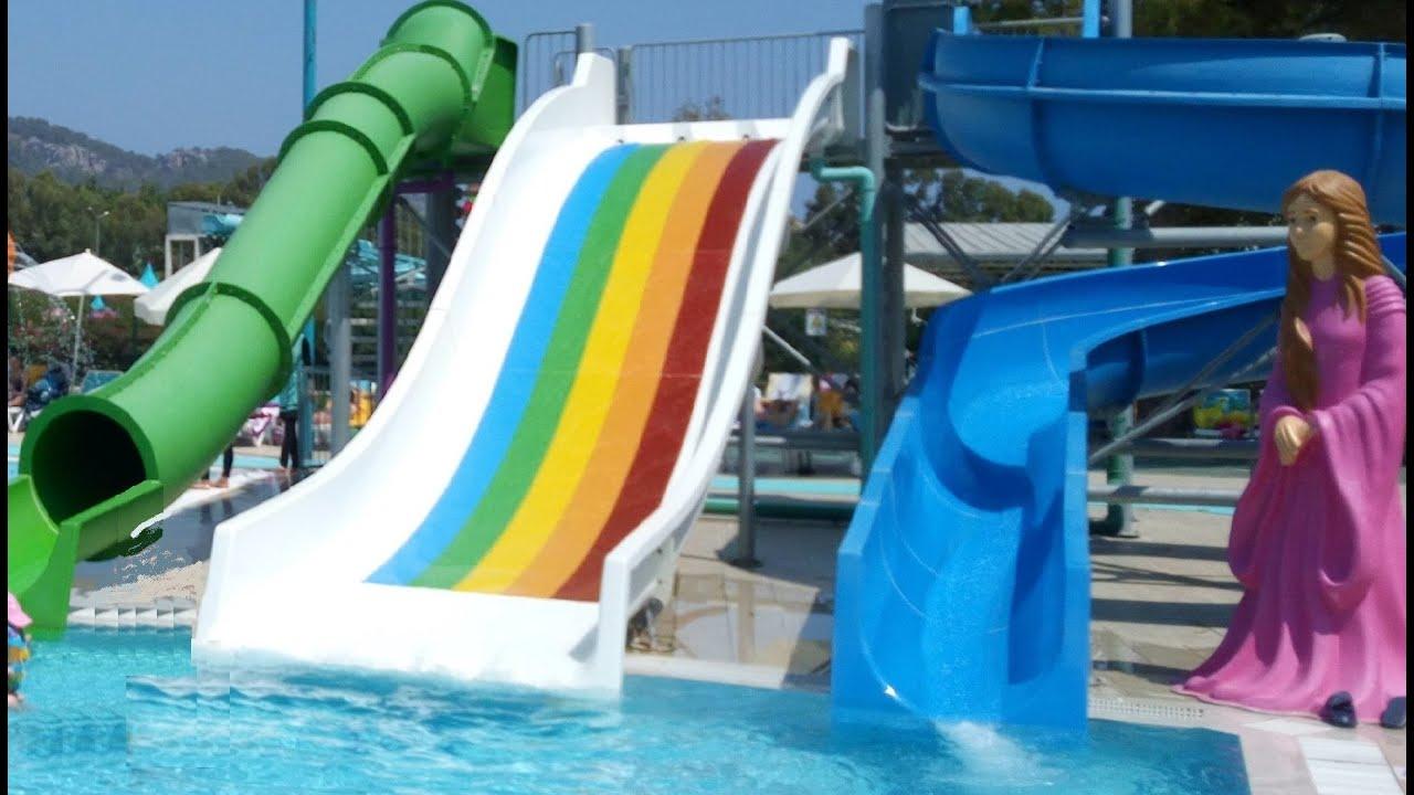 Antalya Kemer Dolusupark Aqualand Elifin Aquapark keyfi 1 ...