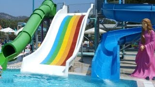 Antalya Kemer Dolusupark Aqualand Elifin Aquapark keyfi 1,Eğlenceli çocuk videosu (1/3)