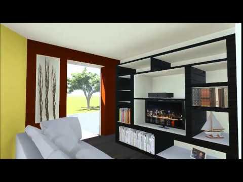 Recorrido virtual casa zona plateada lic b doovi for Casas modernas recorrido virtual