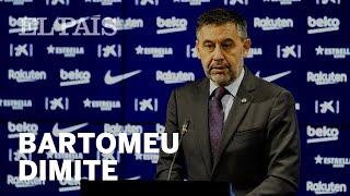 BARTOMEU presenta su DIMISIÓN y la de su directiva   F.C. Barcelona
