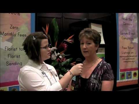 Interview With Mary From The Blooming Idea At The Texas State Florists Convention
