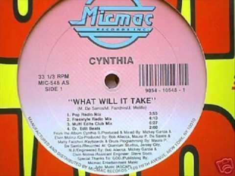 Cynthia   What Will It Take 1991