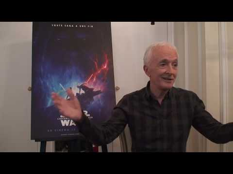 star-wars:-the-rise-of-skywalker---anthony-daniels'-paris-press-conference