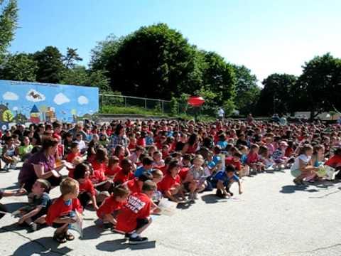 Northwest Elementary School  Million Word Challenge Song in Manchester NH