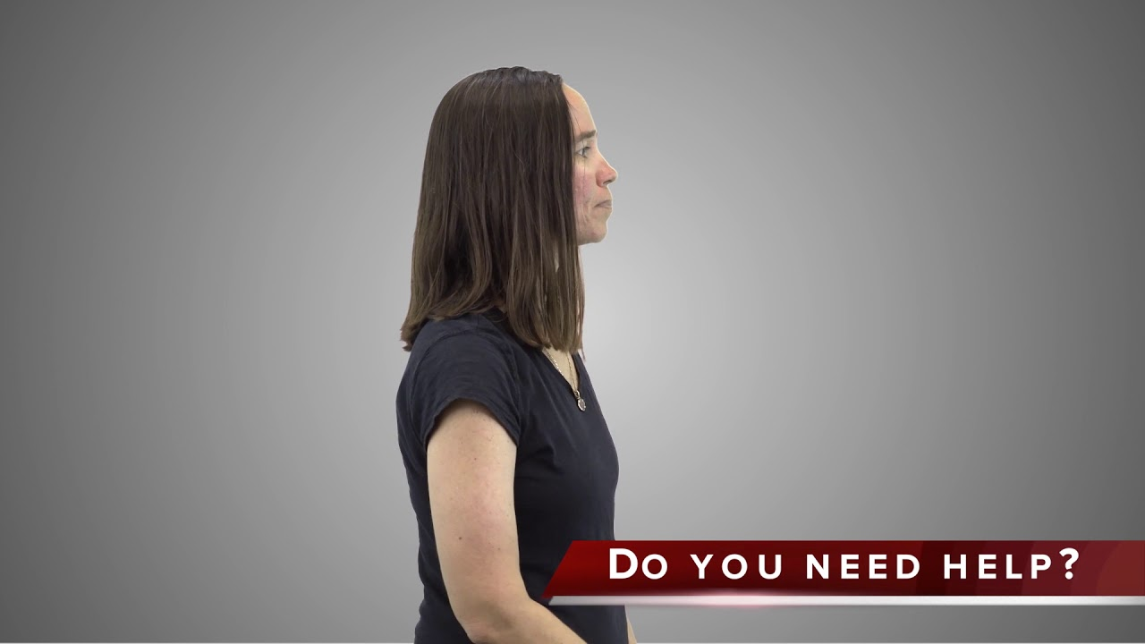 Do you need help? - Safety Terms in ASL - YouTube