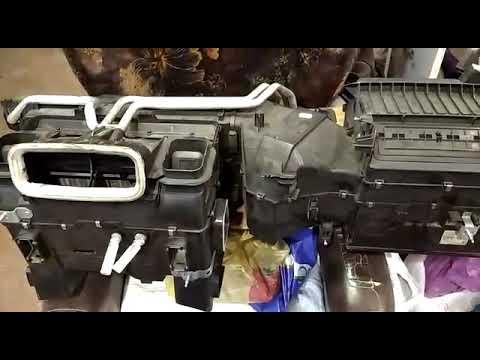 Испаритель кондиционера мерседес W210. Где находится, как чистить