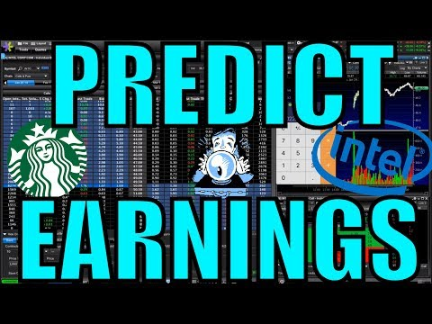 How To Predict Earnings Using The Option Chain – Trading Options For Beginners