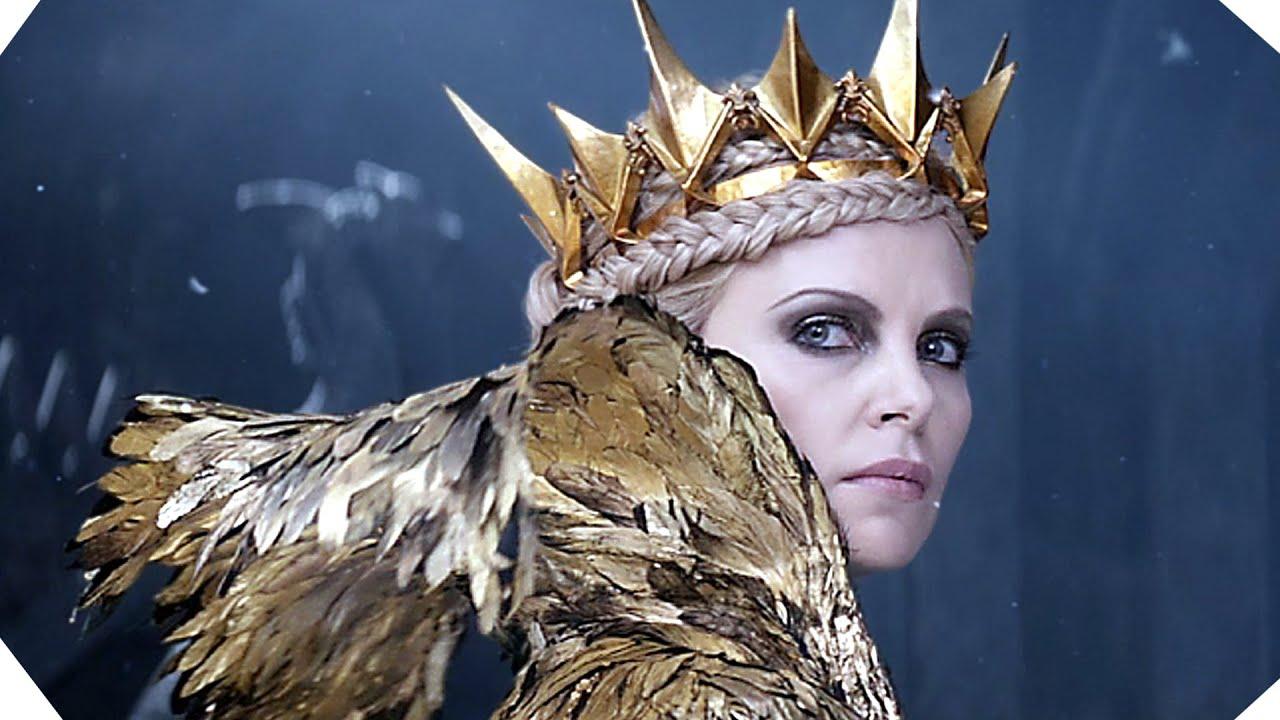 Les reines de l 39 univers s 39 affrontent le chasseur et la reine des glaces youtube - Robe reine des glaces ...
