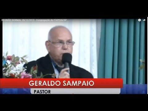 REUNIÃO DE ORAÇÃO 23/01/2020- Congregação de ITAPEVA/SP
