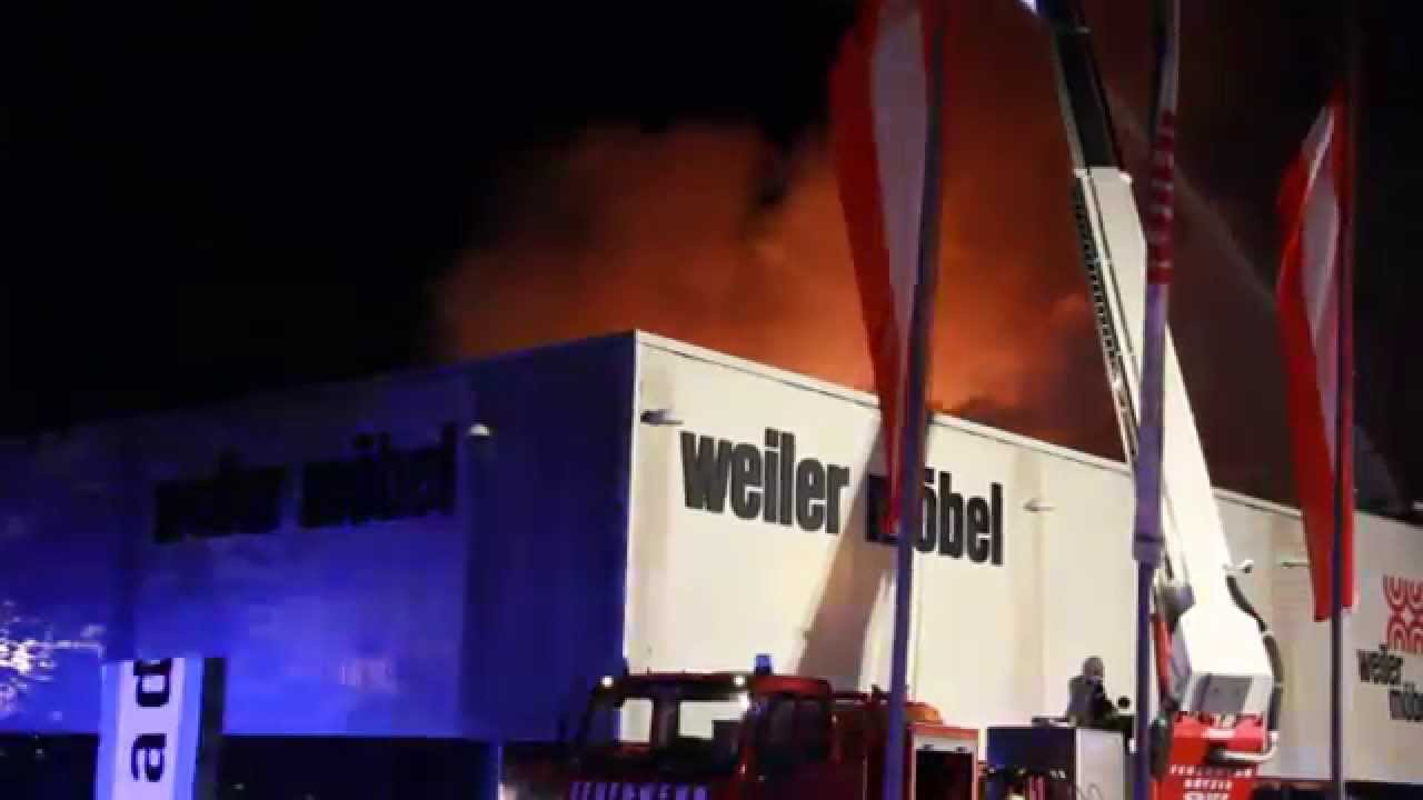 Grossbrand Bei Mobel Weiler Youtube
