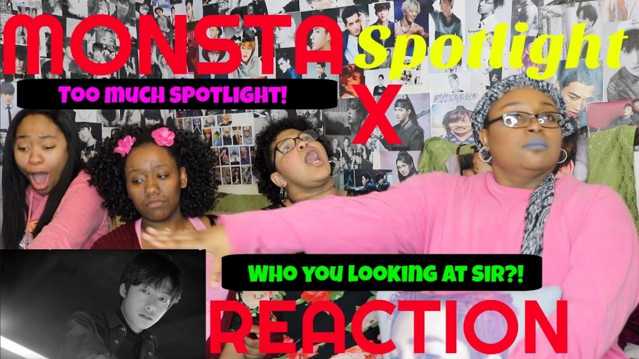 MONSTA X SPOTLIGHT MV REACTION